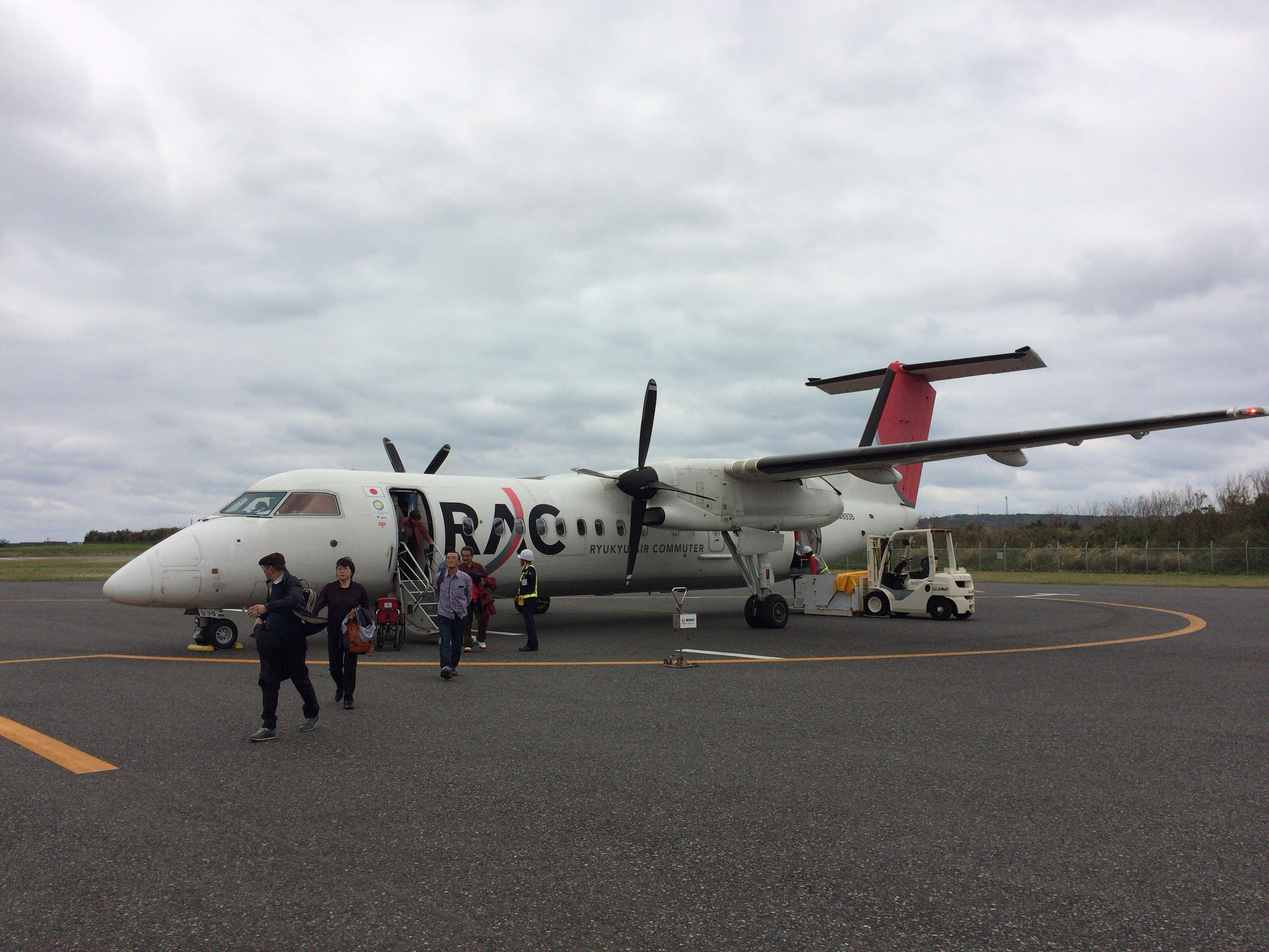 Airplane of RAC (Ryukyu Air Commuter)